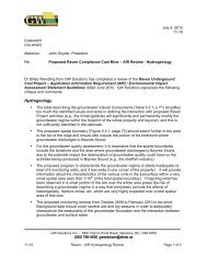 GS Solutions Comments on the Finalized AIR/EIS Guidelines