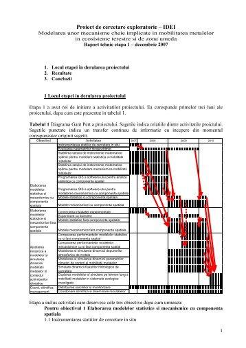 Raport MECOTER ETAPA I - CESEC