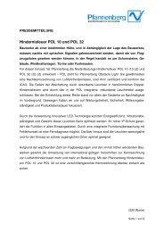 Hindernisfeuer POL 10 und POL 32 - Pfannenberg