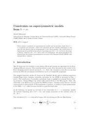 Constraints on supersymmetric models from b → sγ
