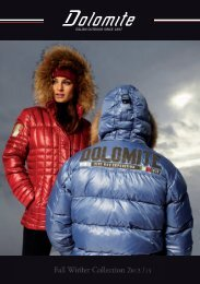 Fall Winter Collection 2012 / 13 - Dolomite