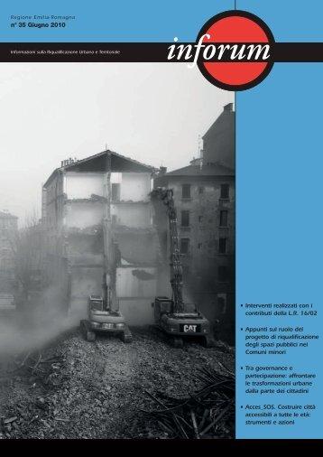 Inforum n. 35 - Giugno 2010 - ER Territorio - Regione Emilia-Romagna