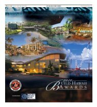 pacific business news | 1 2010 gca build hawaii awards april 30 ...
