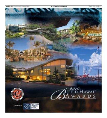 pacific business news | 1 2010 gca build hawaii awards april 30 ...