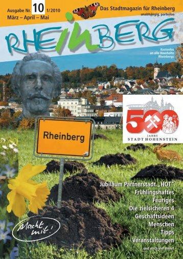 Stadtmagazin Rheinberg • Ausgabe Nr.10