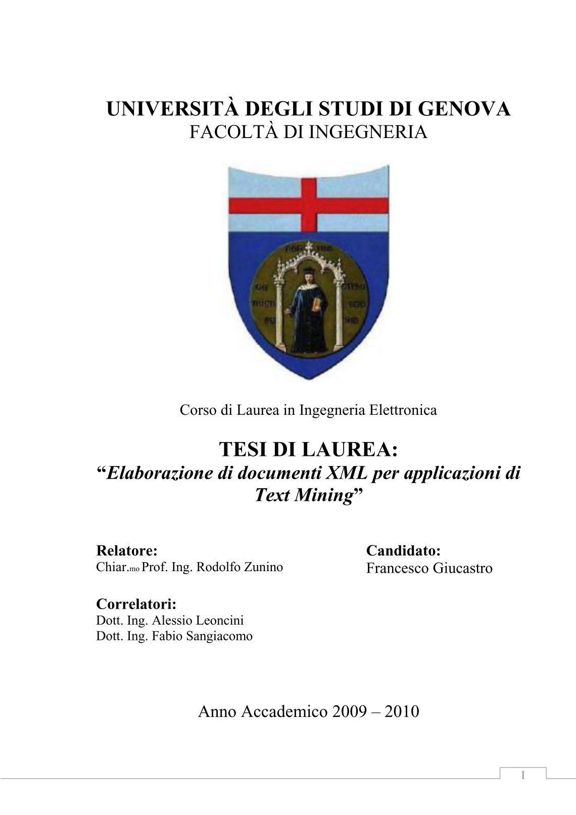 Unige Tasse Economia : Free magazines from elettronica unige
