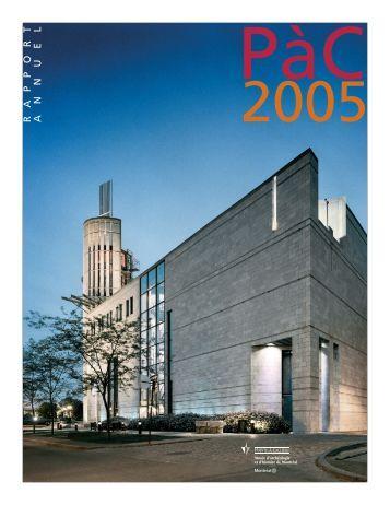 Rapport annuel 2005 - Pointe-à-Callière