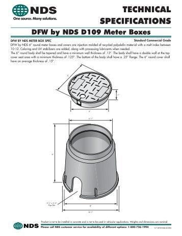 D109 Meter Boxes