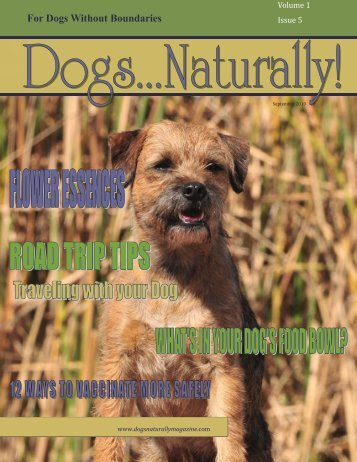 September-October201.. - Dogs Naturally Magazine