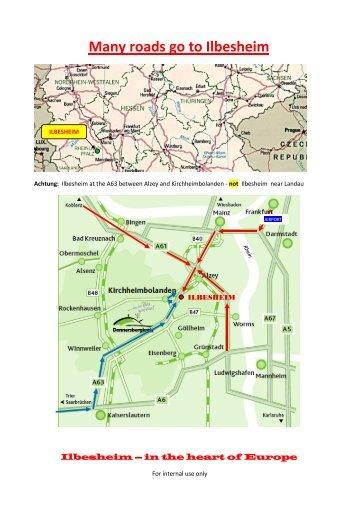Many roads go to Ilbesheim