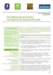 Une filière bois en marche en Nord-Pas de Calais et Picardie