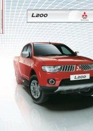 L200-Produktprospekt - Mitsubishi