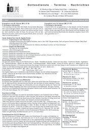 22. Februar 2014 - Pastoralverbund Olpe-Biggesee