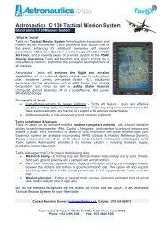 Astronautics C-130 Tactical Mission System - ASTRONAUTICS CA ...