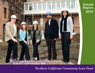 NCCLF 2010 Annual Report - Northern California Community Loan ...