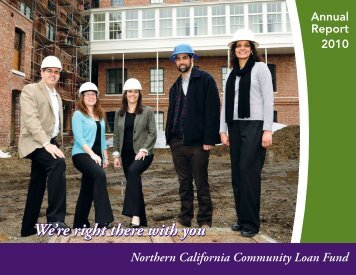 NCCLF 2010 Annual Report - Northern California Community Loan ...