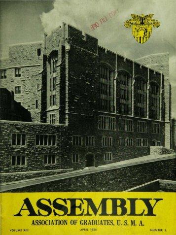 association of graduates, usma - USMA Library Digital Collections ...