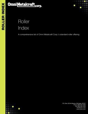 OMC Roller Index.pdf - Omni Metalcraft Corp.