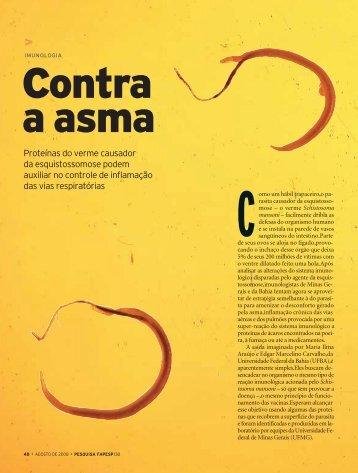 Proteínas do verme causador da esquistossomose podem auxiliar ...