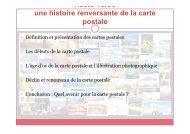 Une histoire de la carte postale - La Poste