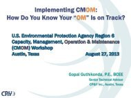 """Implementing CMOM: How Do You Know Your """"OM"""" Is on Track?"""