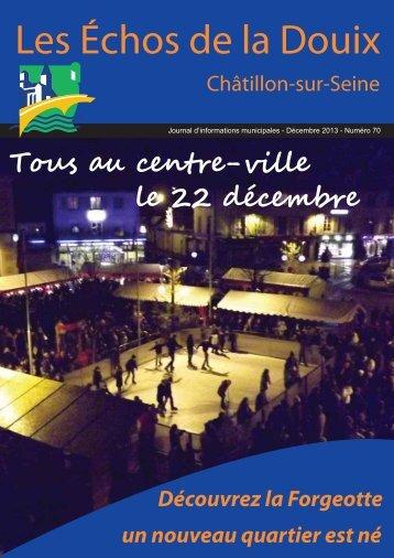le feuilleter - Ville de Châtillon-sur-Seine