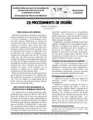 25) PROCEDIMIENTO DE ORDEÑO - Babcock Institute