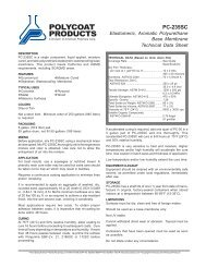 PC-235SC - Polycoat Products