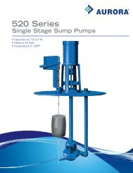 520 Series - BBC Pump and Equipment