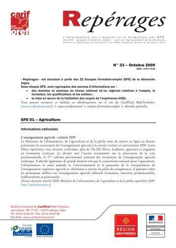 Repérage n° 23 - Carif Oref Midi-Pyrénée
