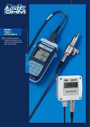 HP480 T480.1 S.TC2.480.2 - Delta Ohm S.r.l.