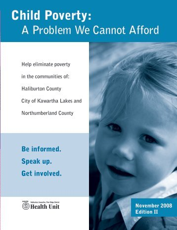 revised poverty report october 08_side1 - Haliburton County ...