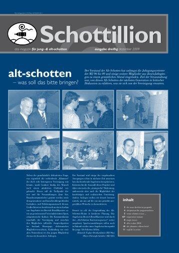 Schottillion Ausgabe Nr. 30 - Alt-Schotten