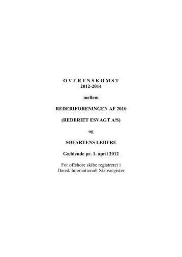 DIS-ovk.1998-20 DANA/Esvagt - Søfartens Ledere