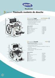 Invacare® Fauteuils roulants de douche - Sofamed