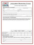 Application for Admission to the Program at Stony Brook University ... - Page 5