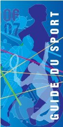 guide du sport 2006 - Istres