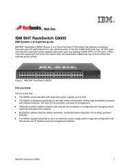 IBM BNT RackSwitch G8000