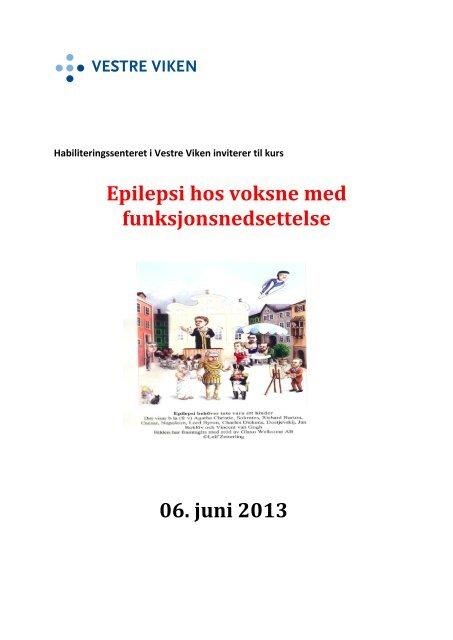 Epilepsi hos voksne med funksjonsnedsettelse 06 ... - Vestre Viken HF