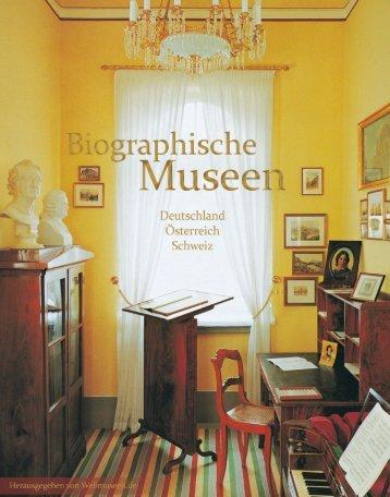 Biographische Museen - Webmuseen