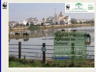 """Buenas Prácticas Agrícolas en Doñana"" - WWF"