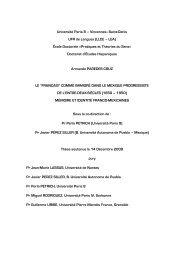 Université Paris 8 – Vincennes–Saint-Denis UFR de ... - E-Corpus