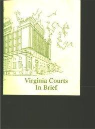 Virginia Courts in Brief