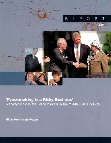 Peacemaking Is a Risky Business - PRIO