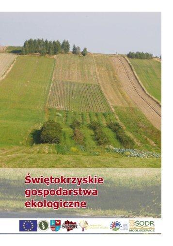 Świętokrzyskie Gospodarstwa Ekologiczne B 155a do ... - KSOW