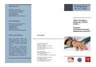 Fachtagung am 18. Juni 2013 - SKM