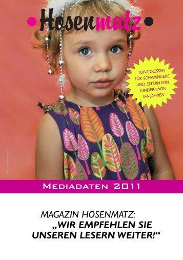 MEDiADATEN 2D11 - Hosenmatz Magazin