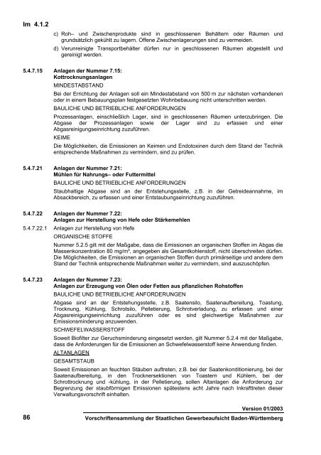 Erste Allgemeine Verwaltungsvorschrift zum Bundes ...