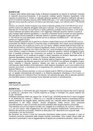 [21k] Domande e Risposte - FNM