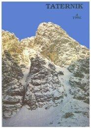 Taternik 4 1996 - Polski Związek Alpinizmu